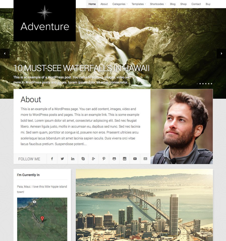 Adventure Theme v2.4.2 premium wordpress themes