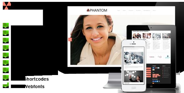phantom 1.02 premium wordpress themes