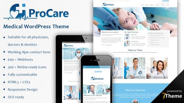 procare premium wordpress themes