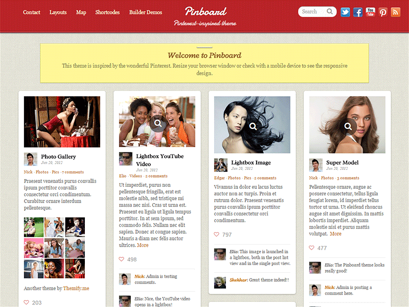pinboard premium wordpress themes