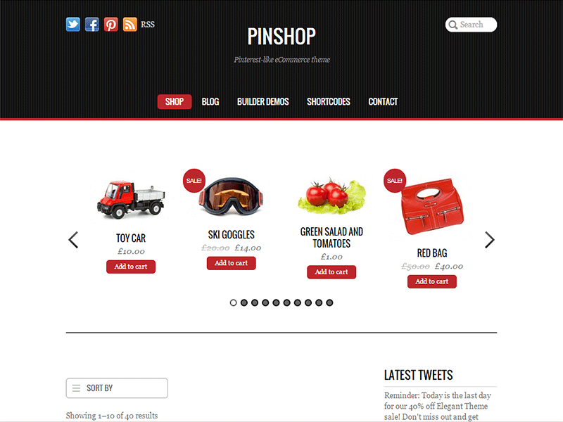 pinshop premium wordpress themes