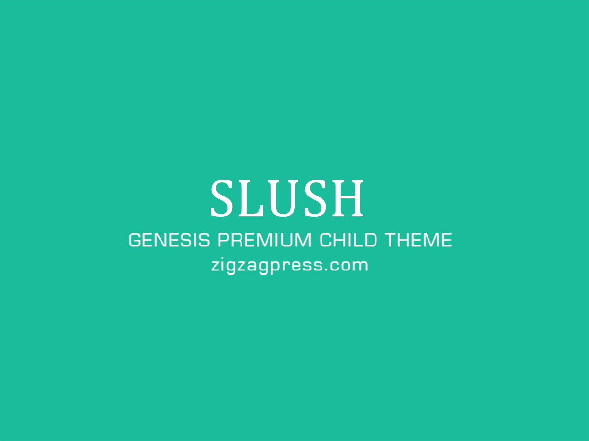 slush premium wordpress themes