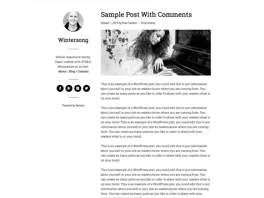 wintersong pro premium wordpress themes
