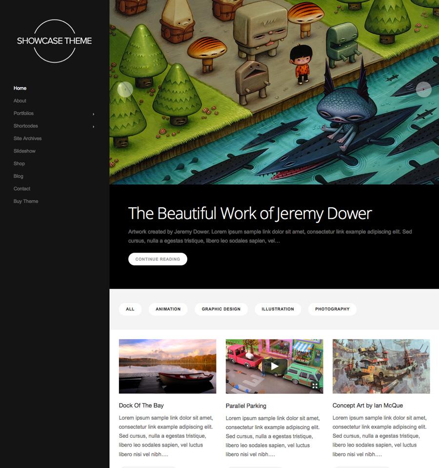 Showcase Theme v3.3.7 premium wordpress themes