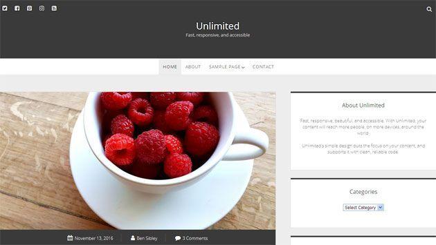 Unlimited premium wordpress themes