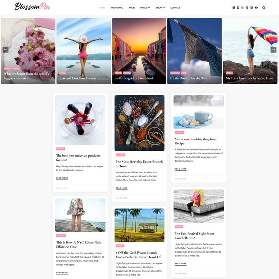 Blossom Pin premium wordpress themes