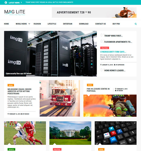 Mag Lite premium wordpress themes