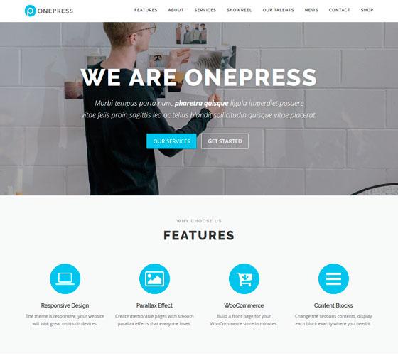 OnePress premium wordpress themes