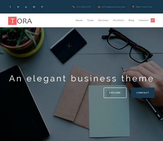 Tora premium wordpress themes