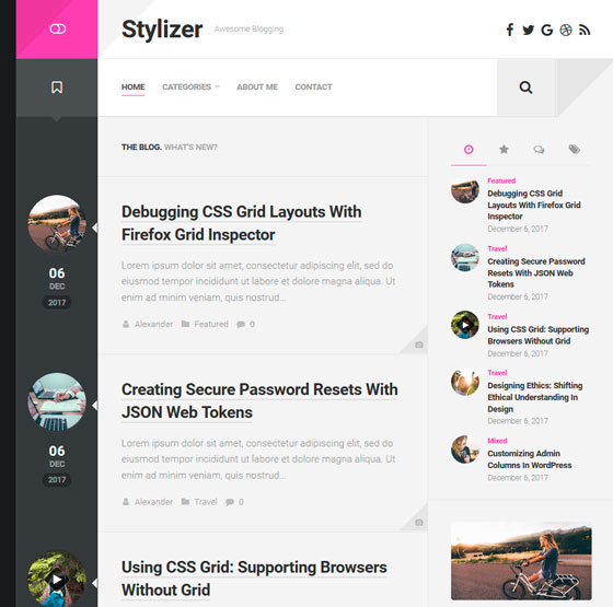 Stylizer premium wordpress themes