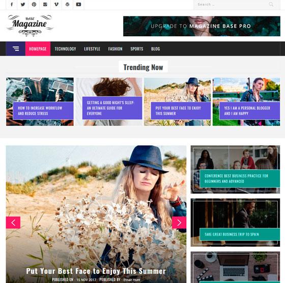Magazine Base premium wordpress themes
