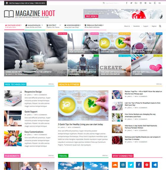 Magazine Hoot premium wordpress themes