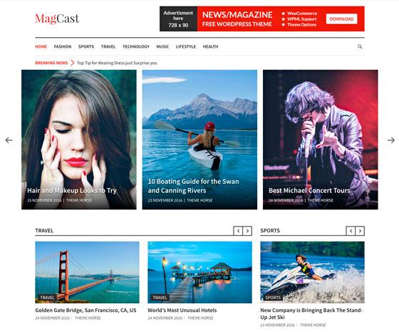 Magcast premium wordpress themes