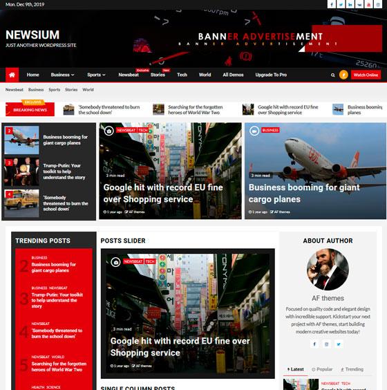 Newsium premium wordpress themes