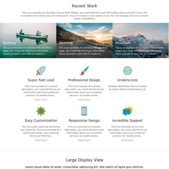 Ambition premium wordpress themes