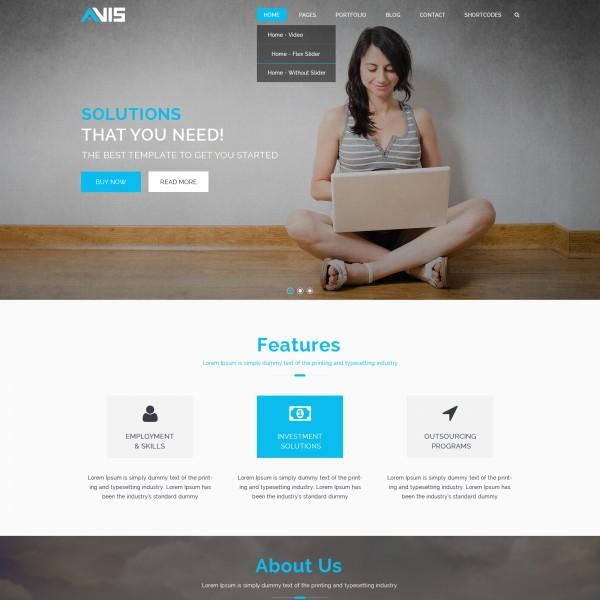 Avis Lite premium wordpress themes