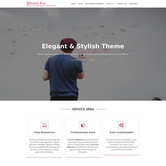 Bfront premium wordpress themes