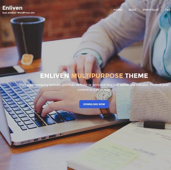 Enliven premium wordpress themes