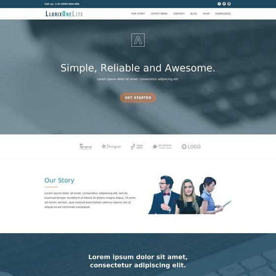 Llorix One Lite premium wordpress themes