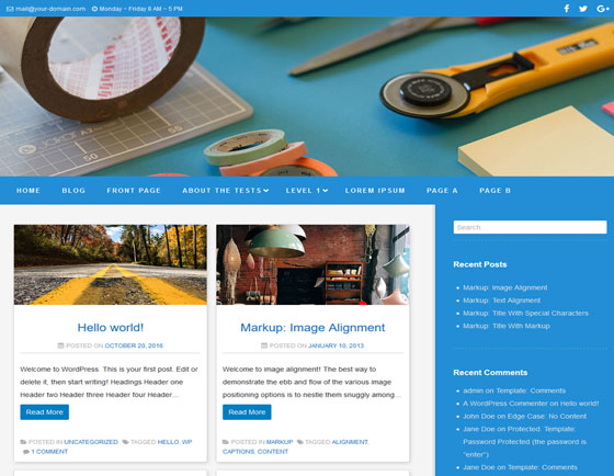 Zoom Lite premium wordpress themes