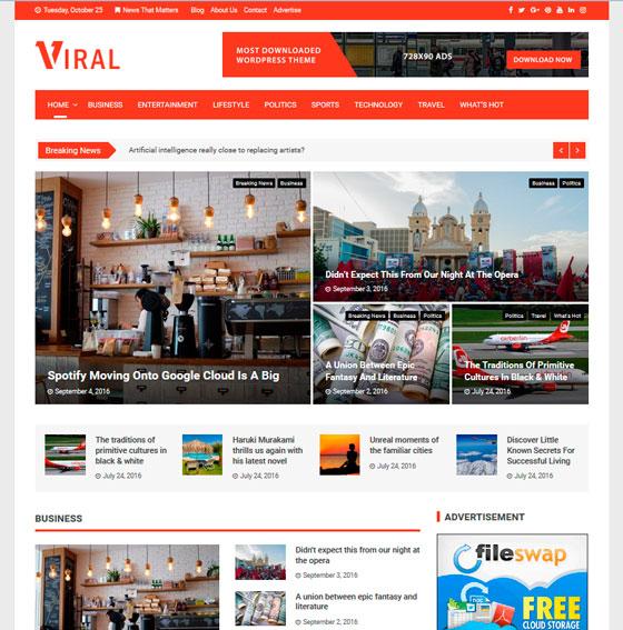 Viral premium wordpress themes