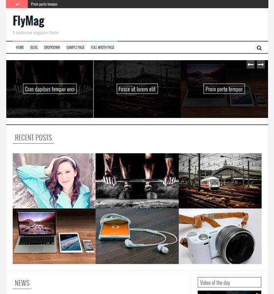 FlyMag premium wordpress themes