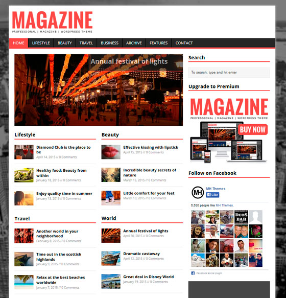 MH Magazine lite premium wordpress themes