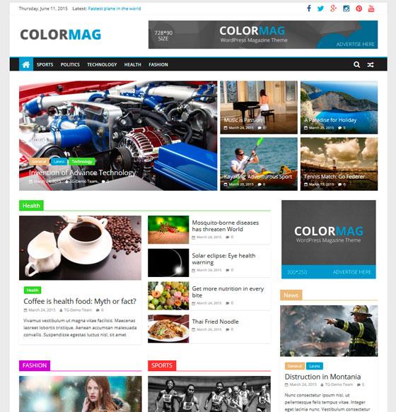 ColorMag premium wordpress themes