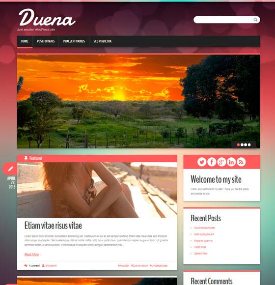 Duena premium wordpress themes