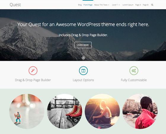 Quest premium wordpress themes