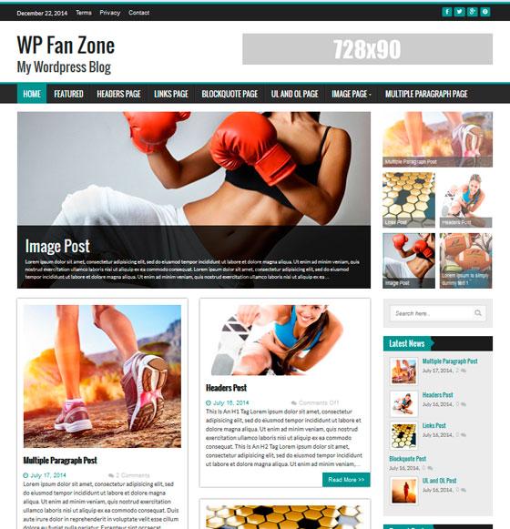 WP FanZone premium wordpress themes