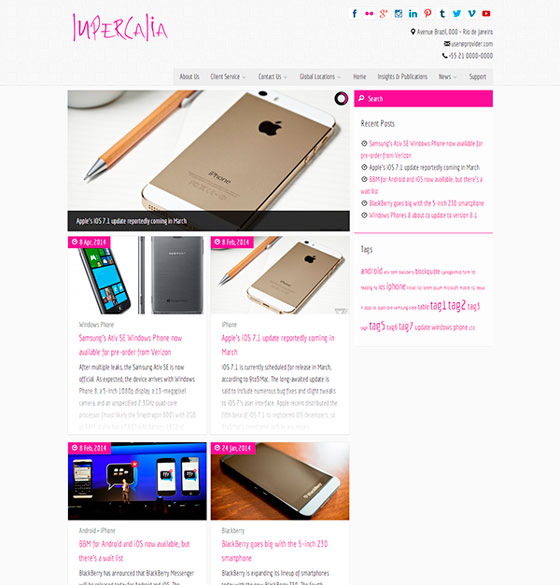 Lupercalia premium wordpress themes