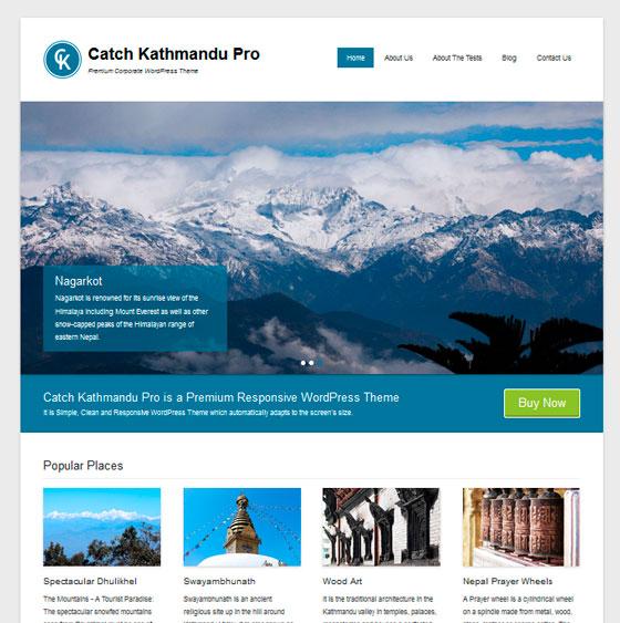 Catch Kathmandu premium wordpress themes