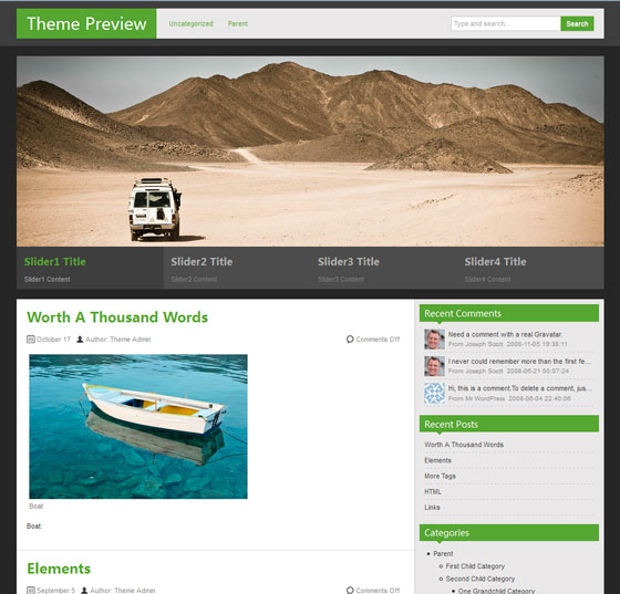 zAlive premium wordpress themes