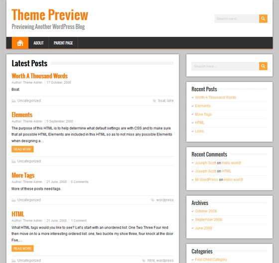 BrickYard premium wordpress themes