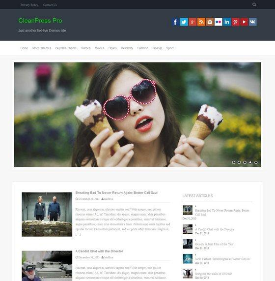CleanPress premium wordpress themes