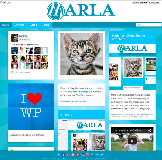 Marla premium wordpress themes