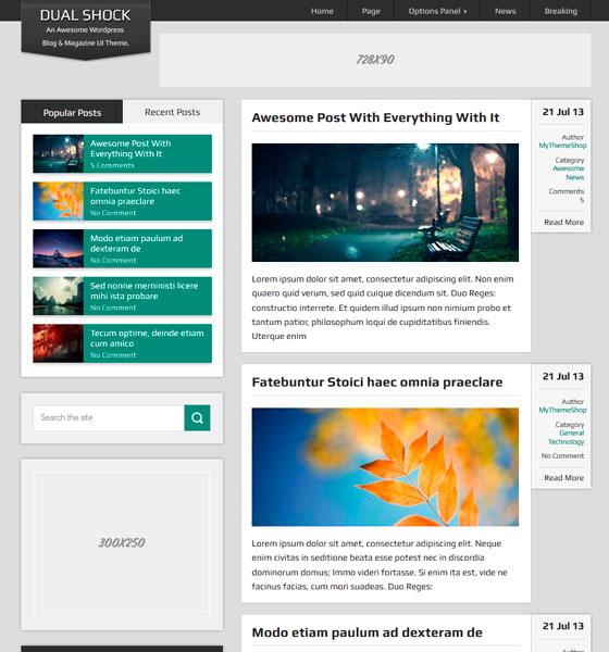 DualShock premium wordpress themes