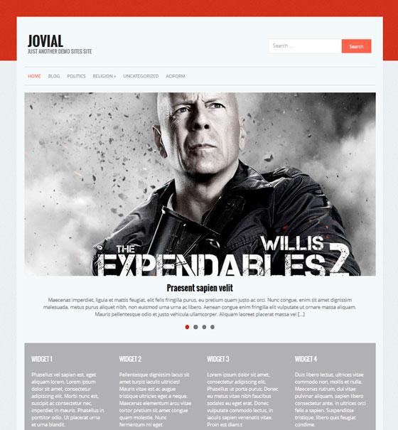 Jovial premium wordpress themes