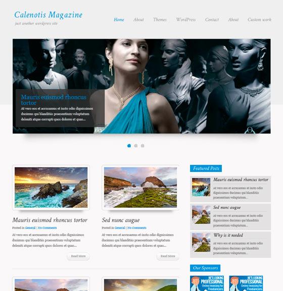CalenotisMagazine premium wordpress themes