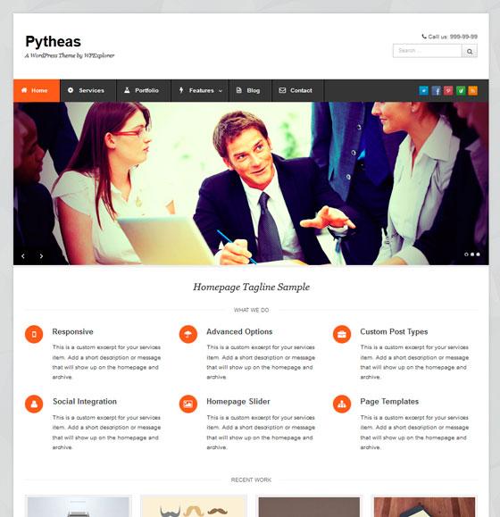 Pytheas premium wordpress themes