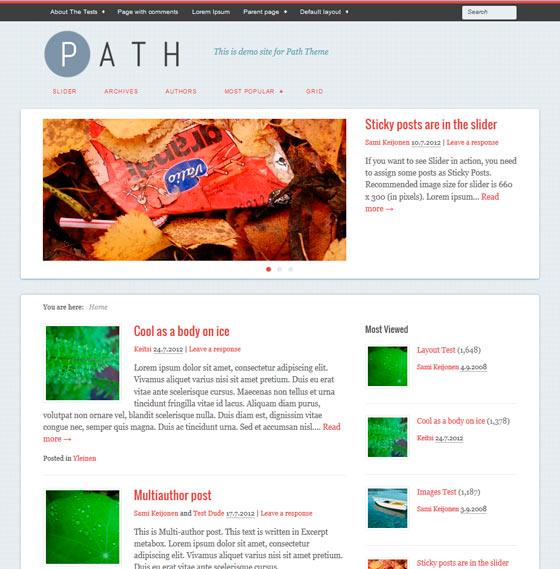 Path premium wordpress themes