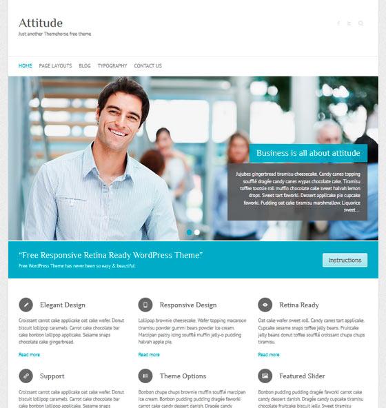 Attitude premium wordpress themes