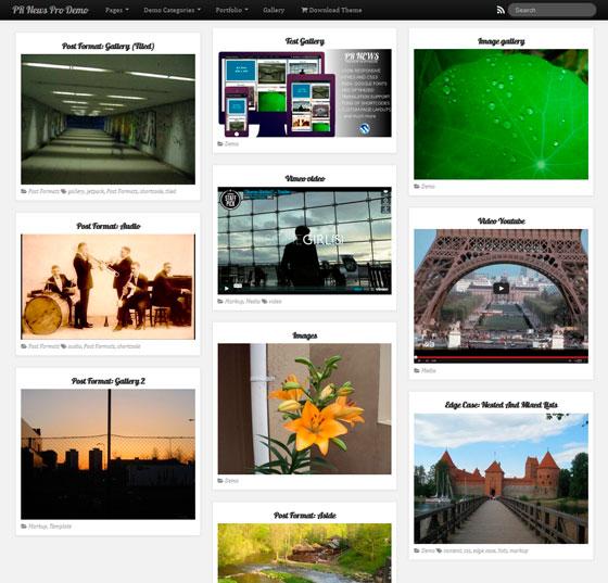 PR News premium wordpress themes