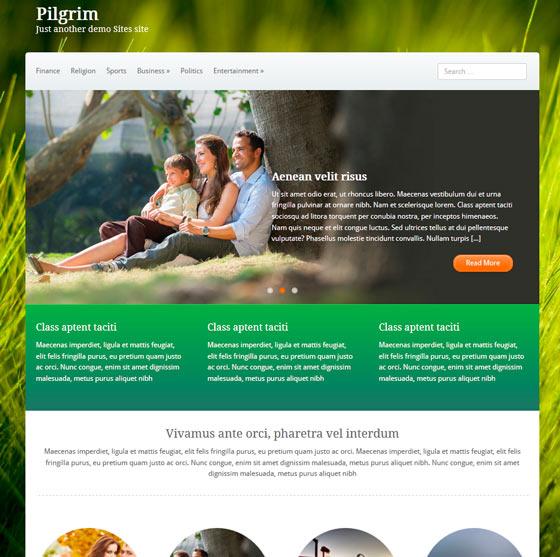 Pilgrim premium wordpress themes