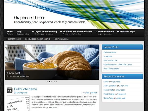 Graphene premium wordpress themes